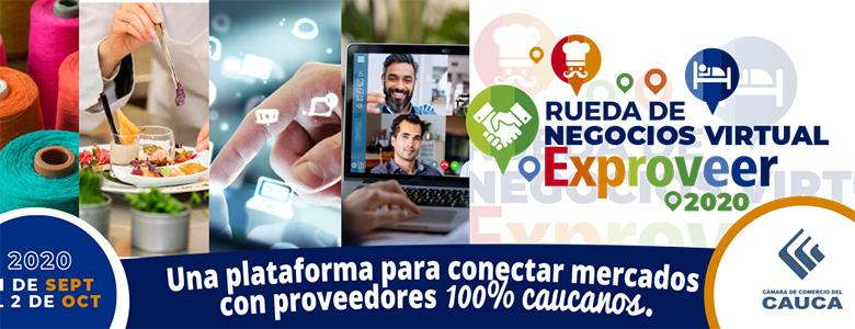 RUEDA DE NEGOCIOS EXPROVEER 2020