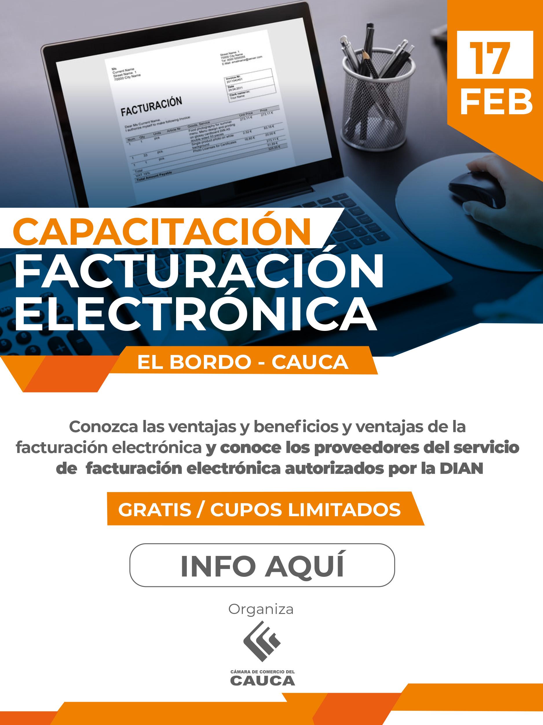Facturación Electrónica - El Bordo Cauca