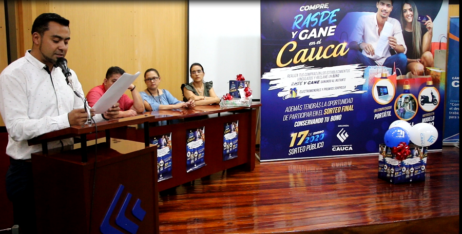 Ganadores de la campaña: Compre, raspe y gane el Cauca