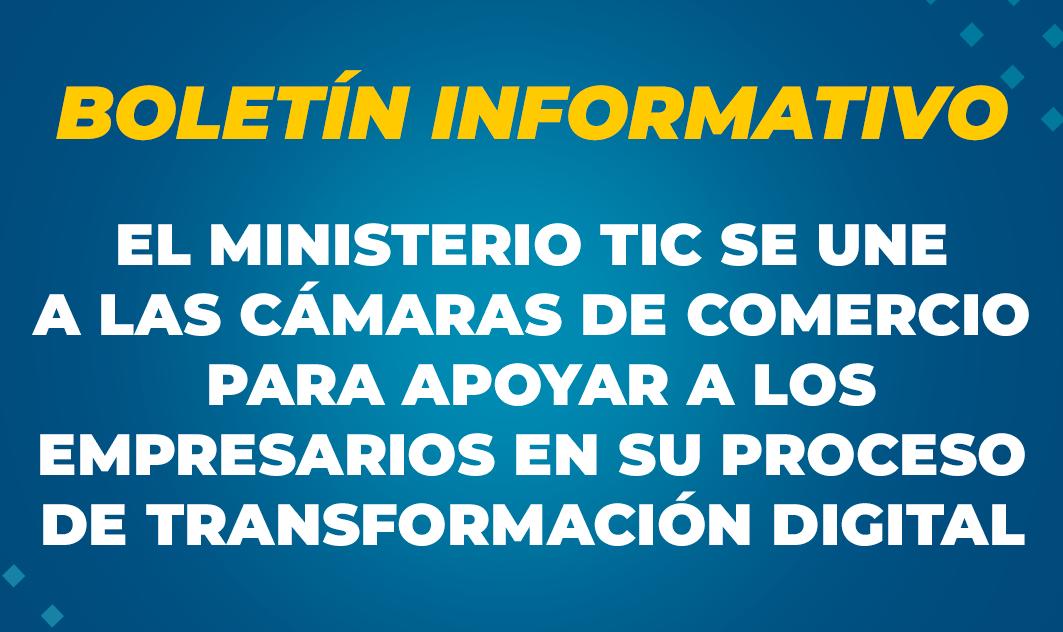 Boletín Informativo  - Confecámaras