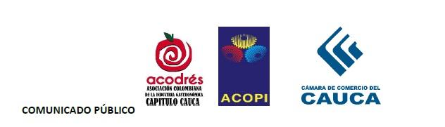 Comunicado a la Opinión Pública - Gremios Productivos del Cauca