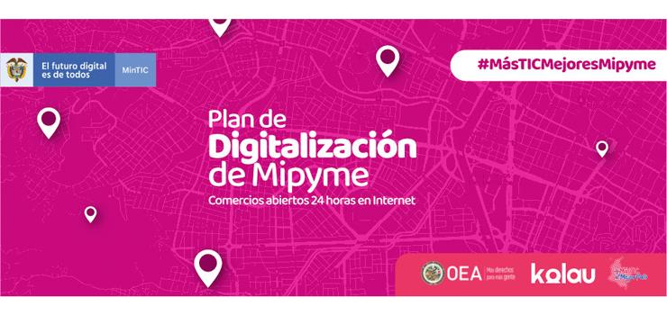Cámara de Comercio del Cauca se une al Plan de Digitalización Mipyme
