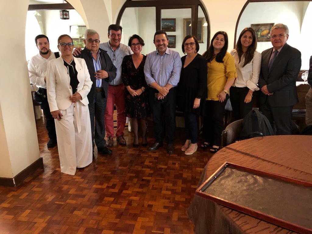 Reunión empresarios del Cauca Comisionado para la Paz