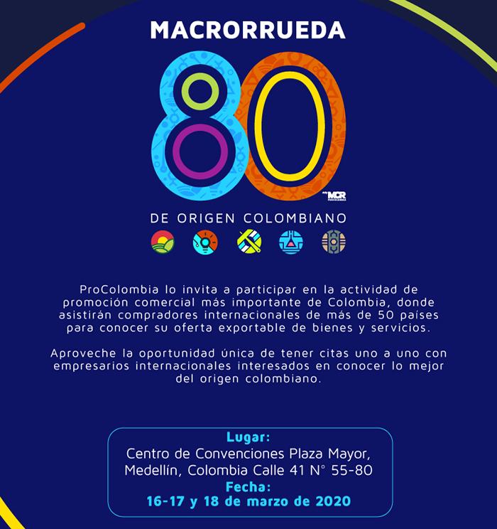 Inscribete Macrorrueda de negocios 80