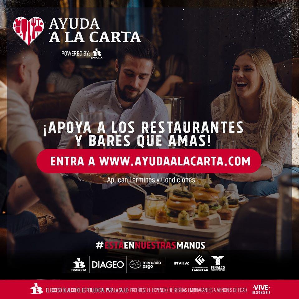 Ayuda a la Carta ¡Apoya a los restaurantes y bares que amas!