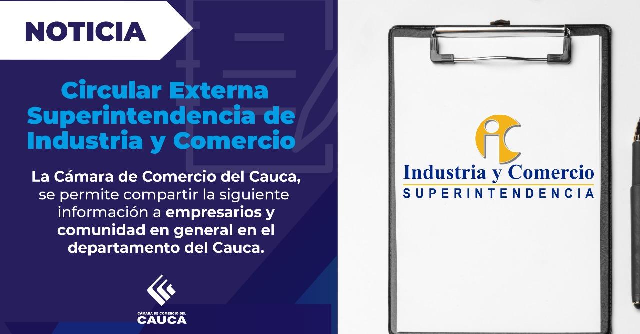 Circular Externa  Superintendencia de Industria y Comercio