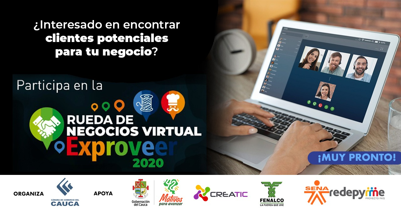Rueda de Negocios virtual EXPROVEER 2020