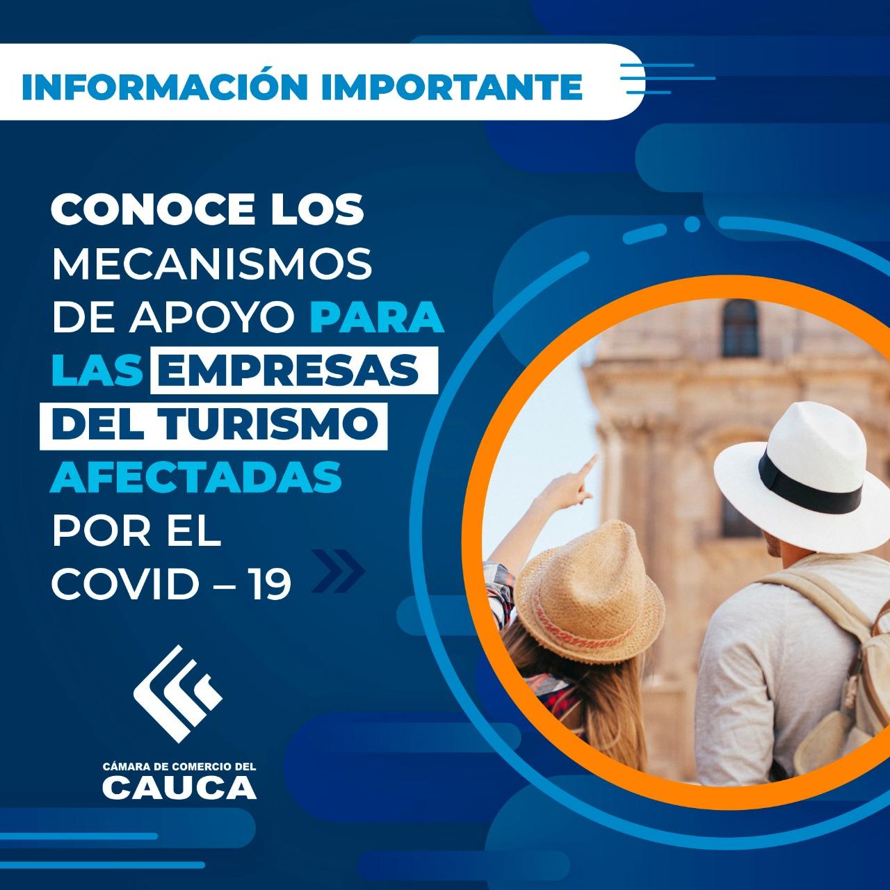 Mecanismos de apoyo para las empresas del Turismo afectadas por el Covid – 19