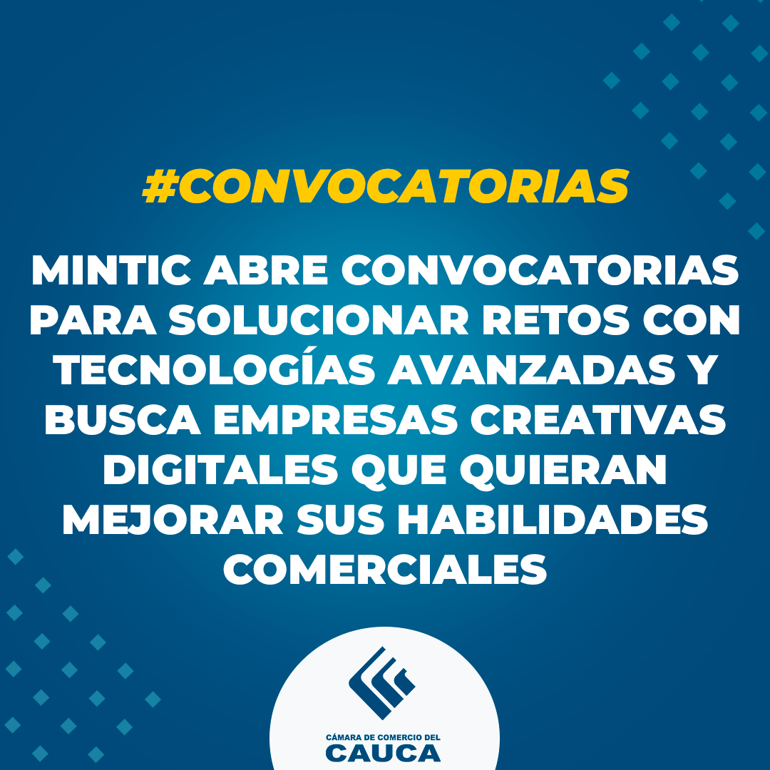 Convocatorias MinTic