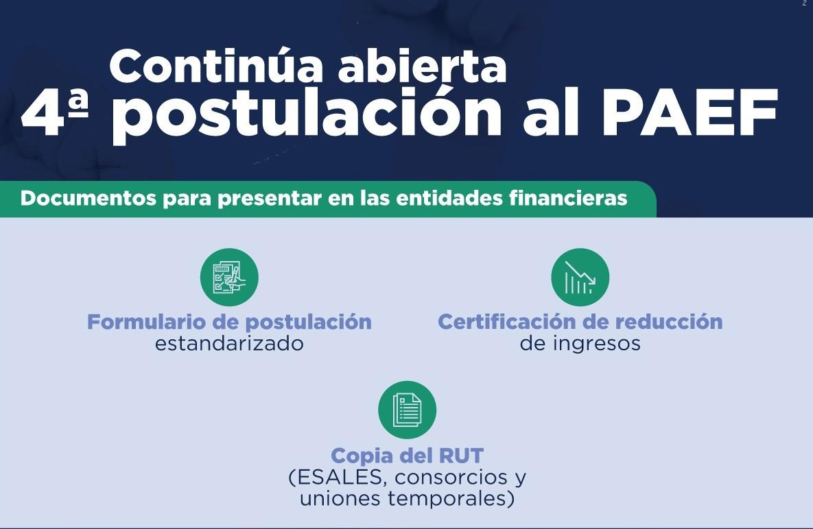 Programa de Apoyo al Empleo Formal – PAEF