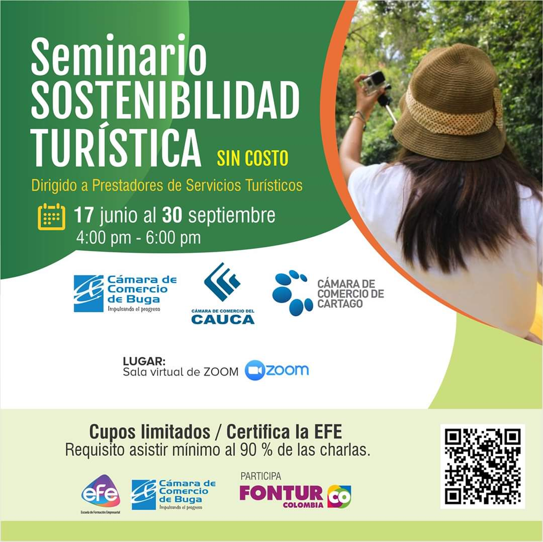 Seminario Virtual: Sostenibilidad Turística
