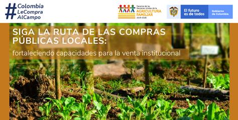 Taller de la serie Siga la ruta de las compras públicas locales de alimentos agropecuarios: fortaleciendo capacidades para la venta institucional.