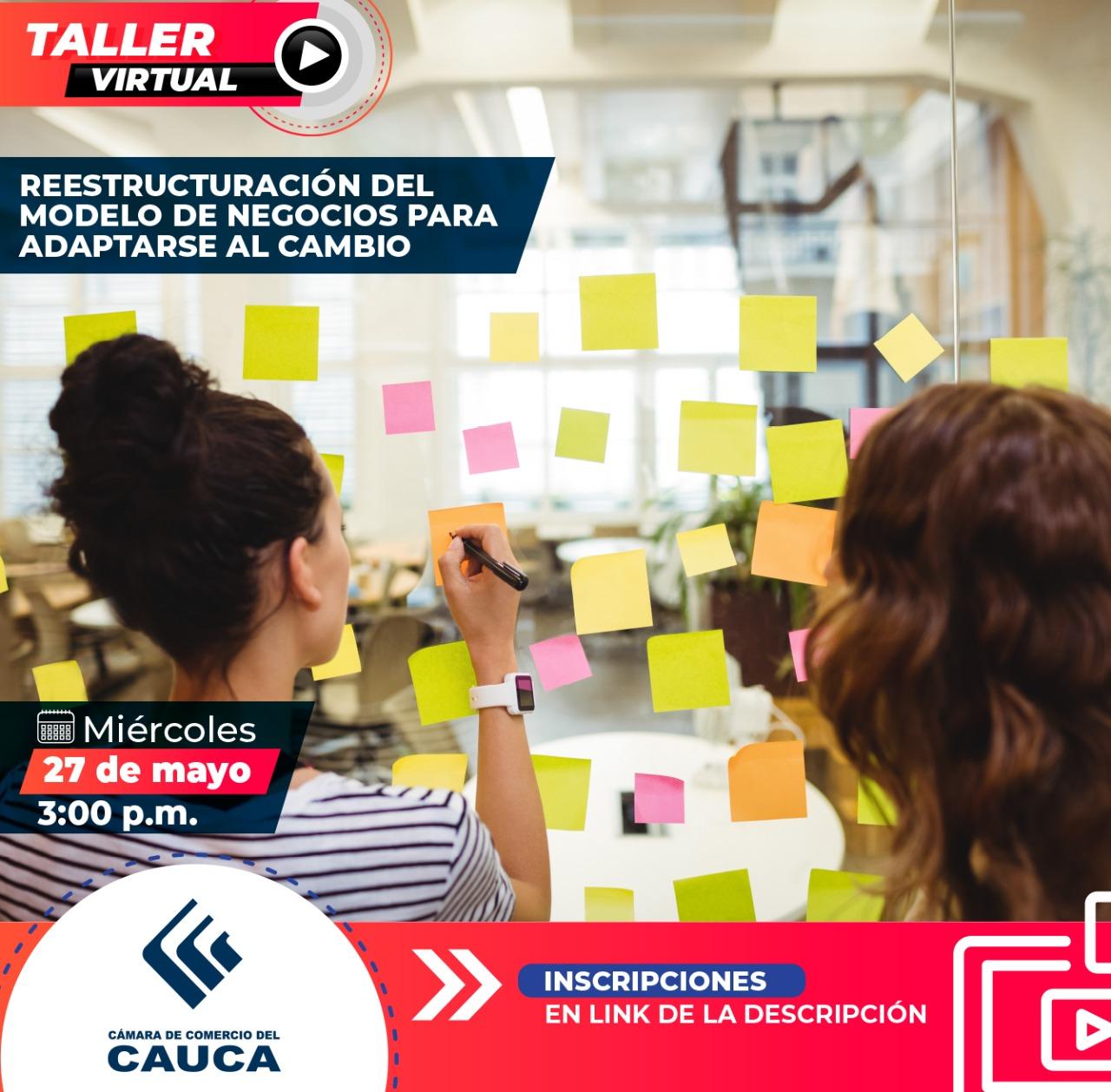 TALLER: Reestructuración del Modelo de negocios para adaptarse al cambio